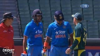 If Rohit spoke in Hindi, Warner wasn't entirely wrong