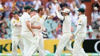 Ashes 2013-14: Australia need four wickets to win 2nd Test after Day 4