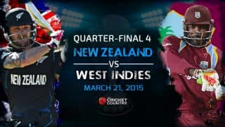 New Zealand vs West Indies quarter-final match, ICC Cricket World Cup 2015 Preview