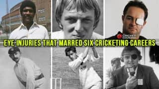 6 cricketers who were victims of eye problems