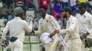2nd Test: Zimbabwe target rare away Test series win in Dhaka