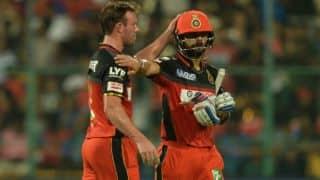 KKR vs RCB, IPL 2016, Match 48 at Eden Gardens: Virat Kohli and AB de Villiers partnership and other highlights