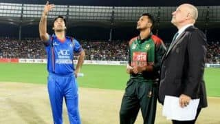 Bangladesh face first ever series defeat vs Afghanistan if they lose today
