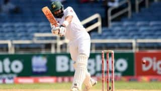 Pakistan vs West Indies, 1st Test, Day 4 tea: Misbah-ul-Haq remains stranded on 99* as visitors score 407