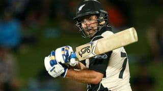 All-round Colin de Grandhomme helps New Zealand thrash Bangladesh by 6 wickets in 1st T20I at Napier