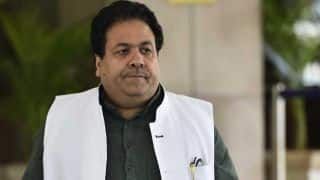IPL chairman Rajeev Shukla will keep himself away from rights auction in Mumbai