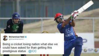 Twitterati congratulates Afghanistan and Ireland on receiving Test status