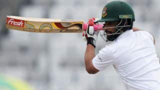 Tamim Iqbal's half-century gets hosts' steady start