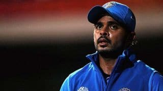 S Sreesanth urges Vinod Rai for revocation of ban