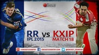 Rajasthan Royals vs Kings XI Punjab IPL 2015, Match 18 at Ahmedabad, Preview: Confident Rajasthan take on struggling Punjab