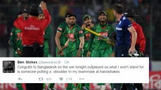 Jos Buttler, Ben Stokes exchange heated words with Bangladesh players; Twitter erupts