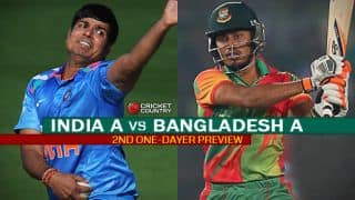 India 'A' vs Bangladesh 'A' 2nd one-dayer, Preview: Visitors need to pull up their socks