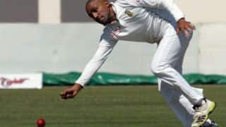 Zimbabwe vs South Africa one-off Test at Harare: Dane Peidt strikes in his first ball in Test cricket