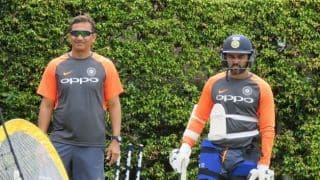 Virat Kohli and Co. warm up ahead of practice match against Cricket Australia XI