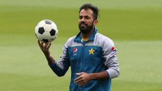 Representing Pakistan in 2019 World Cup is my only priority: Wahab Riaz