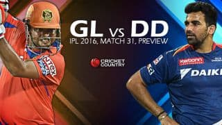 Gujarat Lions vs Delhi Daredevils, IPL 2016, Match 31 at Rajkot, Preview: GL look to secure place in playoffs