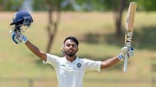 IND U-19 finish first day with 428/4 against SL U-19
