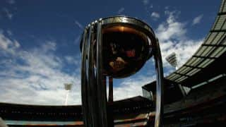 Rain interrupts play for India against Bangladesh in quarter-final of ICC Cricket World Cup 2015