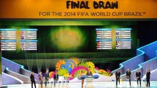 FIFA World Cup 2014 Points Table: Group-wise team standings and results