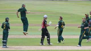 Nottinghamshire, Somerset involved in dramatic tie in Royal London One-Day Cup