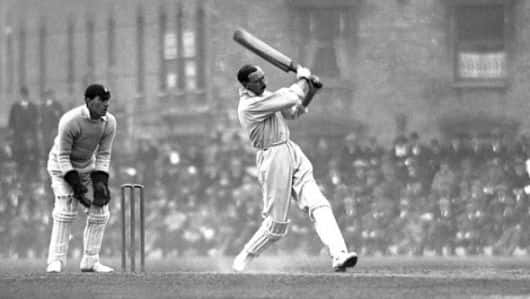 Ashes 1920-21: Percy Fender hits a six and a duck off the same ball