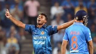 Dasun Shanaka stars as Sri Lanka reach 318 for 8 against Leicestershire in warm-up match