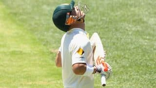 David Warner pays tribute to Phil Hughes with a fearless century during India vs Australia 1st Test Day 1