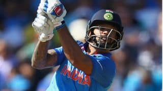 Shikhar Dhawan goes past Sourav Ganguly to become India's highest run-getter in ICC Champions Trophy