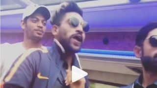 Watch India A players slay their moves to zingat song in London