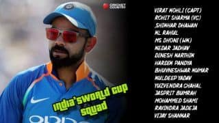 VIDEO: Meet India's 15-member World Cup squad
