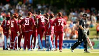 West Indies hammer New Zealand by 203 runs in 5th ODI; draw series 2-2