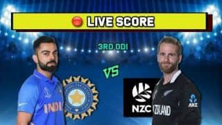 LIVE Cricket Score India vs New Zealand, IND vs NZ 3rd ODI Bay Oval, Mt Maunganui: India Determined To Avoid Whitewash