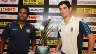 Sri Lanka vs England 2nd ODI Colombo 2014: England clamber to 185 before being bowled out