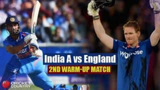 Live Cricket Score, India A vs England, 2nd one-day warm-up match at Mumbai: IND A win by 6 wickets