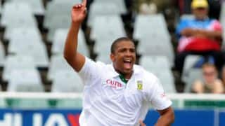 Vernon Philander ruled of first two South Africa vs England 2015-16 Tests due to ankle injury