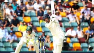 Vince, Cummins star on Day 1; game evenly poised