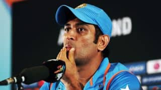 MS Dhoni unhappy with Pune pitch, calls it 'English wicket'