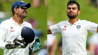 MS Dhoni ahead of Virat Kohli in Highest percentage run contribution by an Indian captain