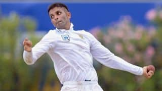 South Africa vs Sri Lanka, 2nd Test: Keshav Maharaj records the best figures by a visiting bowler in Sri Lanka with 8/116