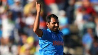 Mohammed Shami credits MS Dhoni for successful international cricket career