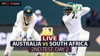LIVE Cricket Score, Australia vs South Africa, 2nd Test, Day 2 at Hobart: Play abandoned