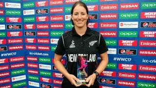 ICC WWC 17: Holly Huddleston, Suzie Bates ease NZ to a 9-wicket win over SL