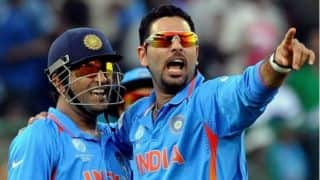 MS Dhoni justifies the decision of not selecting Yuvraj Singh in Indian squad for ICC Cricket World Cup 2015