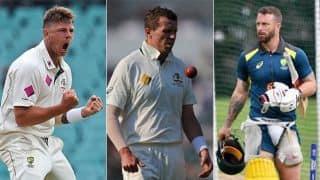 Ashes 2019: Siddle, Wade, Pattinson in as Australia opt to bat at Edgbaston