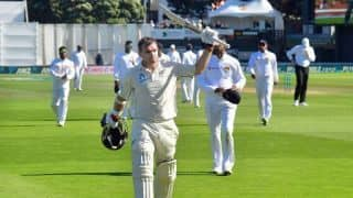 "Tom Latham ""pretty proud"" after scoring epic 264* on ""a great day"" at the Basin Reserve"