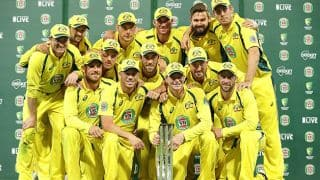 India vs Australia 2015-16, 5th ODI at Sydney