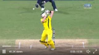 सिडनी वनडे में स्टीवन स्मिथ के विकेट को लेकर हुआ विवाद