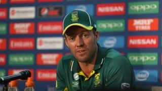 CT 2017: Not an ideal way for SA to finish the tournament, says de Villiers
