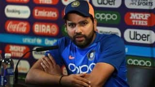 No uncertainty regarding No 4: Rohit Sharma