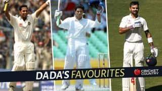 Sourav Ganguly rates top five knocks he has seen from Indian batsmen